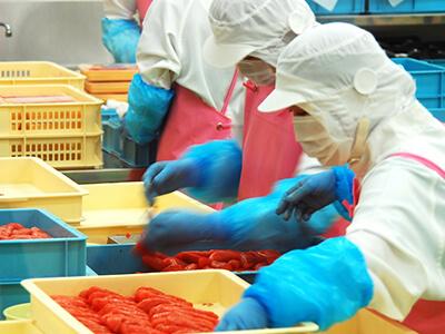 食品加工業のファクタリング例
